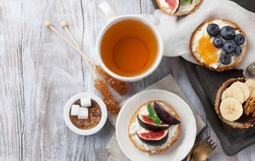 Winter Flu Season Food & Tea