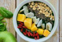 Recipe Mango Goji Lime Smoothie
